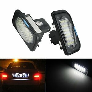 2 Stk Canbus Kennzeichenbeleuchtung Lampe für Mercedes-benz W203 W209 R230 S203