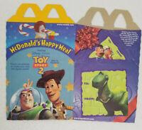 McDonalds 1999 Toy Story 2 Happy Meal Box Pixar