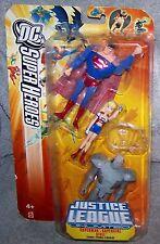 DC SUPER HEROES 2006 JUSTICE LEAGUE UNLIMITED SUPERMAN, SUPERGIRL & STEEL SET