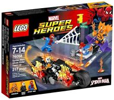 LEGO Marvel Super Heroes Spider-Man: Ghost Rider Team-up Set #76058