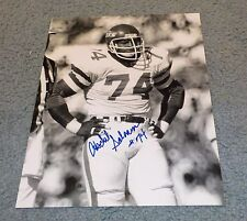 NY Jets Abdul Salaam Signed Autographed 8x10 Photo Sack Exchange COA B