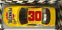 1997 Johnny Benson Autographed Ertl #30 Pennzoil Grand Prix 1:18 Nascar Diecast