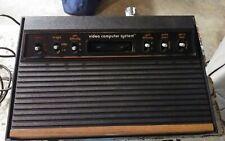 Atari 2600 Console 6 Switch Broken For Parts Or Repair