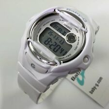 BG-169R-7A Weiß Baby-G Casio Damenuhren Digital Resin Band