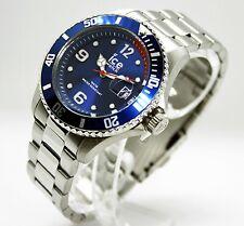 ✅ ICE-WATCH Herrenuhr Ice Steel Blue Silver M 015771 ✅