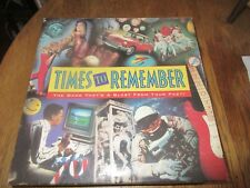 Vintage 1991 Milton Bradley Company Times to Remeber Blast from the Past Game