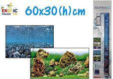 SFONDO DOPPIO CON GEL WAVE AQUAVIEW KIT 30x60cm DECORAZIONE ACQUARIO VASCA
