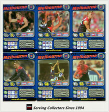2002 Teamcoach Blue Platinum Trading Card Team Set Melbourne (6)