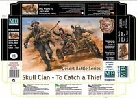 DESERT BATTLE SERIES,SKULL CLAN- TO CATCH A THIEF 1/35 MASTER BOX 35140 *NEW* DE