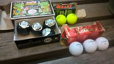 9 Top Quality Golf Balls. 4x Dunlop 65, 3x Titleist, 2 x Bullet FREE P&P