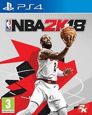 NBA 2K18 2018 EN CASTELLANO NUEVO PRECINTADO PS4