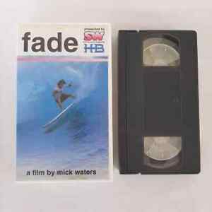 Fade By Mick Waters VHS Surf Movie VHS Video Tape Surfing