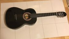 Black Espanola Classical Guitar. Preowned