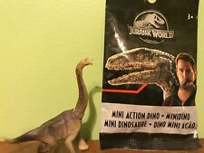 jurassic world mini dinos wave 8 Brachiosaurus Sealed