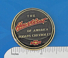 CHEVROLET  - the Heartbeat of America  -  logo -  stick on emblem GIFT BOXED