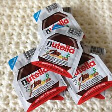 Nutella CHOCOLATE Spread  14 X 15g Individual Portions Mini Packs cocoa 14/11/17