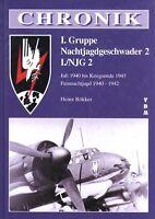 Rökker Chronik Nachtjagdgeschwader Luftwaffe 2 I./NJG 2 2.WK!
