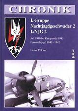 Chronik Nachtjagdgeschwader Luftwaffe 2 I./NJG 2 2.WK!