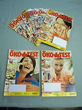 Öko Test Jahrgang 2006 HefteNr. 1-2 und 4-12 insgesamt 11 Hefte
