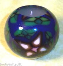 Mediano Hecho a Mano Brilla en la Obscuridad Verde+Azul + Multicolor Diseño Vela