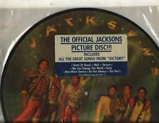 JACKSONS - VICTORY PICTURE DISC VERY GOOD+ SHAPE