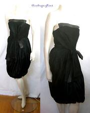 GIANFRANCO FERRE Dark Emerald VELVET Bustier DRESS