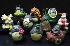 "LOT OF 10 Miyazaki Hayao My Neighbor Totoro Catcar FIGURE SET 2"" loose #A3"