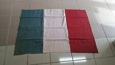 REAL FRENCH FLAG OF PARIS LIBERATION IN1944..MADE IN HONOR OF AMERICAN SOLDIERS