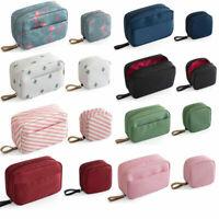 Mini Cactus Travel Toiletry Storage Cosmetic Bag Beauty Makeup Bag Organizer #H