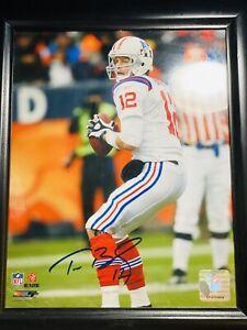 2009 Tom Brady Autographed Photo NFL Authentic(Must Read Desc)(Lost Coa)