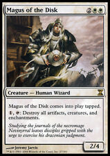MTG MAGUS OF THE DISK EXC - PLAYED/ROVINATO MAGO DEL DISCO - TSP - MAGIC