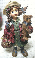 Boyds Bears & Friends, Bearstone Ornament, Yesterday's Child, 1997