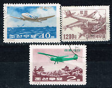 Korea Aviation History Aircrafts stamps 1966
