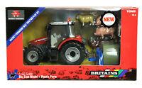43205 Britains Massey Ferguson Tractor Play Set Kids Childrens Toy 3+ Years