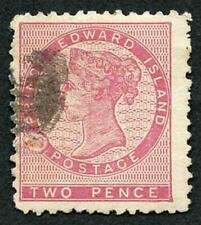 Prince Edward Islands SG12 2d Rose Used