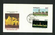 MBC13) Malaysia 1972 Bandaraya Kuala Lumpur FDC