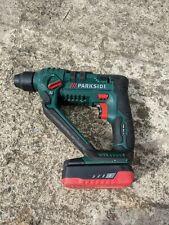 Marteau perforateur Parkside avec étui et Batterie.