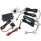 New Auto 4 Parking Sensors Car LED Display Reverse Backup Radar Kit Silver