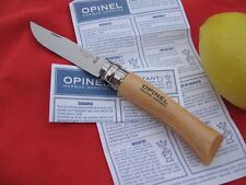 COUTEAU OPINEL SPÉCIAL CUISINE ET TABLE  INOX OPINEL KNIFE  COLTELLO  OPINEL