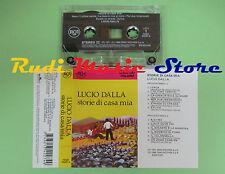 MC LUCIO DALLA Storie di casa mia 1996 italy RCA 74321 34227-4 no cd lp dvd vhs