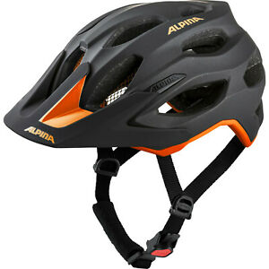 Alpina Fahrradhelm CARAPAX 2.0 / Gr: 52 - 57 / black orange  Enduro Fahrrad Helm