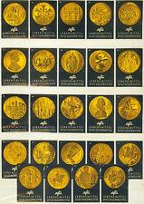 24er Etikettenserie, Afu - Goldmünzen, afu Lebensmittel Goldrichtig von 1964