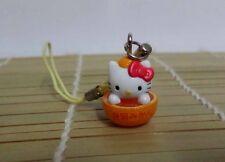 Hello Kitty Cosplay Orange Kitty CellPhone Strap Charm