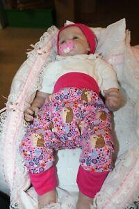 sale-Babyset-Pumphose+Mütze-Jogginghose-Handmade-Gr 56-62-68 tierliebe