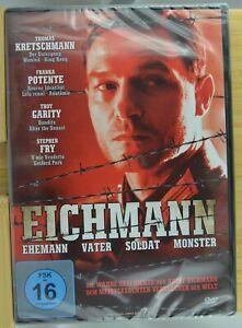 Eichmann (2009) - DVD (k11) Franka Potente - 2.WK -  NEU/OVP - GRATIS VERSAND