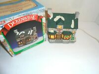 95 Dickensville Vtg Noma CHRISTMAS Village Town Tea House  Hills D. Store (F