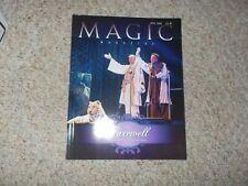 Siegfried & Roy Magazine Magic Farwell Issue 2009