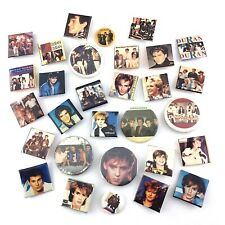 Vintage Duran Duran Band Made in Canada Lot of 30 Buttons Q628