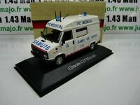 AMB13U 1/43 IXO atlas AMBULANCE COLLECTION CITROËN C25 Heuliez SAMU Rouen 1984