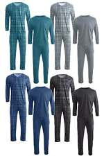 Herren Pyjama Schlafanzug Hausanzug Hose Oberteil 2-Teilig M L XL 2XL 3XL NEU